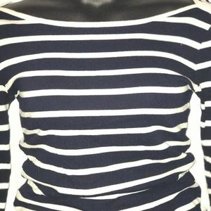 J. Crew Tops - JCrew Long Sleeve Stripped Pullover Blouse